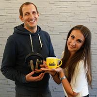 Sebastian Kaufmann und Sandra Stix
