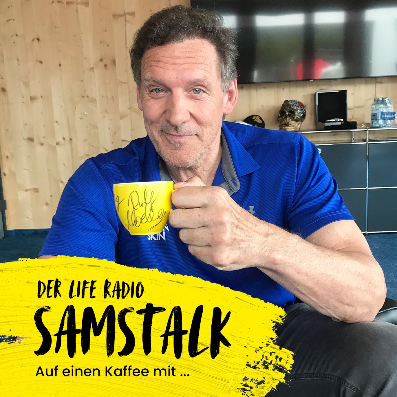 Auf einen Kaffee mit dem Schauspieler Ralf Moeller